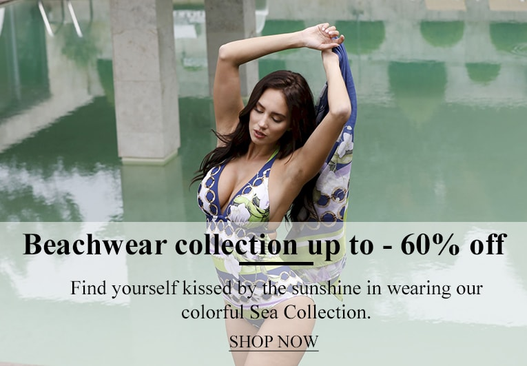 Beachwear collection up to - 60% off